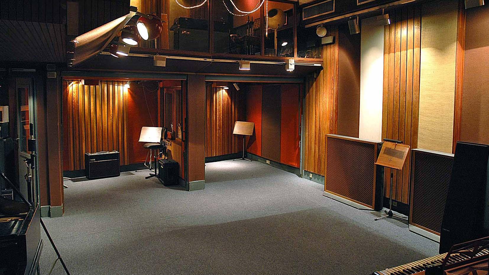 live room gallery gang recording studio